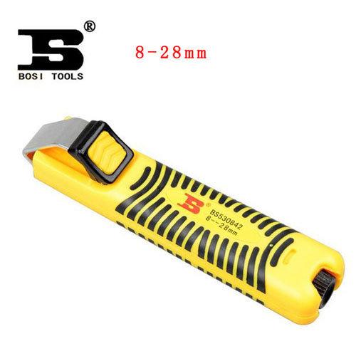 dao mổ vỏ cáp quang, dao rọc vỏ cáp quang, bosi bs530842
