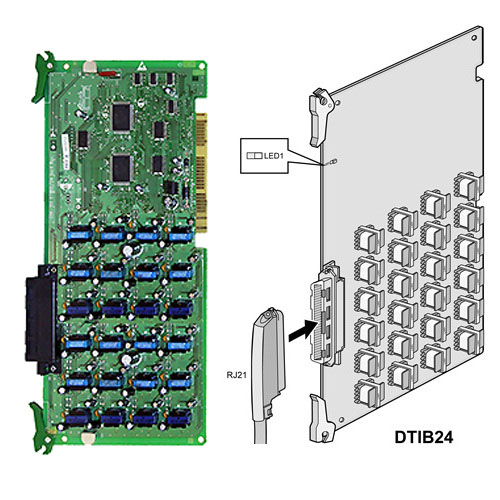 D100-DTIB24.ST - DKT (24 ports) interface board